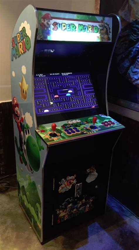 stand  arcade machine  play coin operated