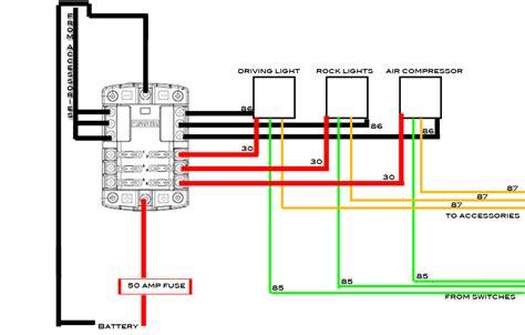 blue sea fuse block wiring diagram 34 wiring diagram