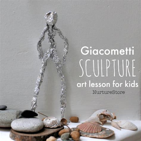 giacometti sculpture art project  kids nurturestore