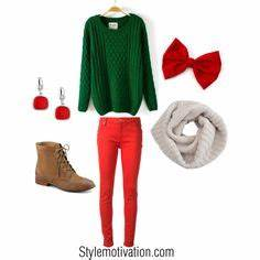Cute Christmas Outfits on Pinterest