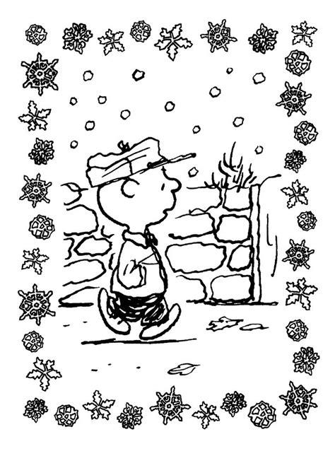printable charlie brown christmas coloring pages  kids  coloring pages  kids