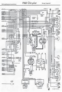 1968 U0026 39 S Chrysler All Models Electrical Wiring Diagram