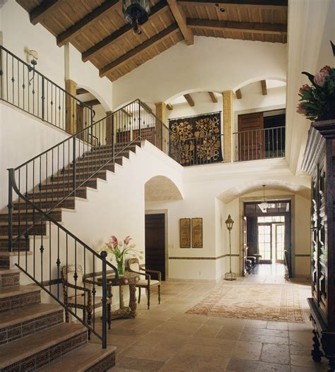 entry spanish colonial  moroccan details designed