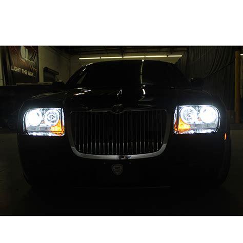 Chrysler 300 Hid Headlights by Hid Xenon 09 10 Chrysler 300 Eye Halo Led