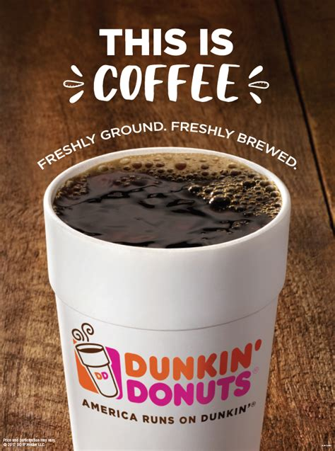 Our partnership with uber eats and deliveroo means your favourites delivered straight to your door! Sip, Peel, Win! Dunkin' Donuts Coffee Drinkers are Winners with New Peel & Reveal On-Cup Program ...