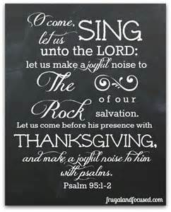 happy thanksgiving 2014 psalm 95 1 2 free printable frugal focused