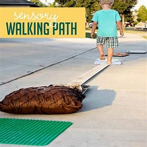 Simple Sensory Walking Path for Feeling with Your Feet ...