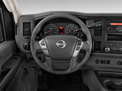image  nissan nv passenger  sv steering wheel size