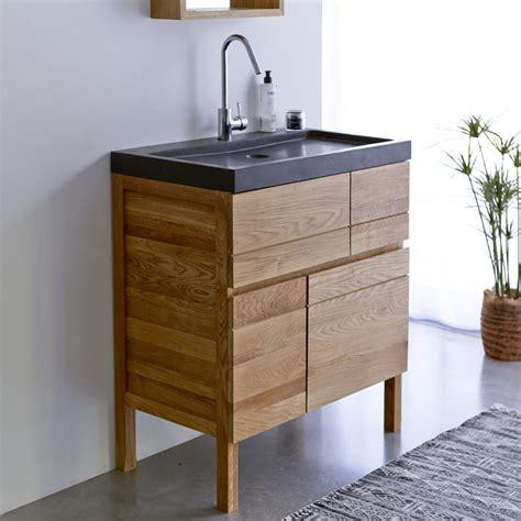 meuble salle de bain bois castorama solutions pour la