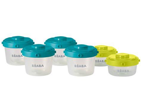 petit pot conservation bebe lot de 6 pots de conservation beaba