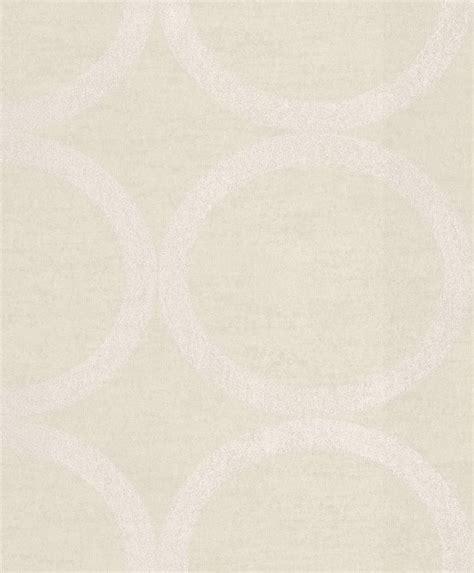 Tapete Vlies Kreise Beige Metallic Rasch Textil 228150