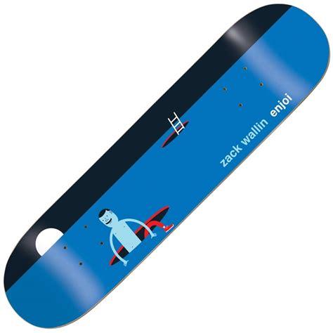enjoi skateboards zack wallin jim houser skateboard deck 8
