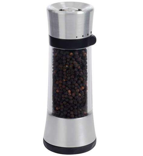 Oxo Spice Rack by Oxo Grips Flare Pepper Grinder In Spice Containers