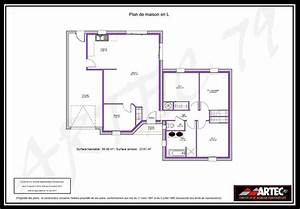 plan maison plain pied 100m2 With plan maison 100m2 plein pied