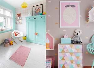 10 inspirations pour une chambre de petite fille joli place With idee couleur chambre fille