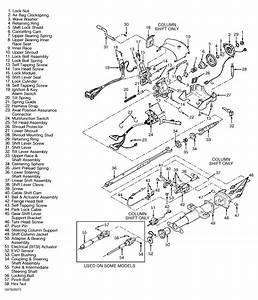 Where Can I Find A Diagram Of The Steering Column On A