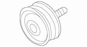 Oem Gm Drive Belt Idler Pulley 2001 Silverado Sierra 2500 Hd 3500 97221943