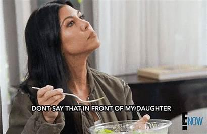 Mom Kourtney Kardashian Fat Daughter She Around