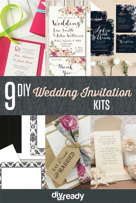 25 best ideas about diy wedding invitation kits on