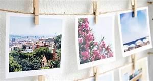 Fotos Aufbewahren Ideen : gast beitrag diy polaroid collage sch n bei dir by depot ~ Frokenaadalensverden.com Haus und Dekorationen