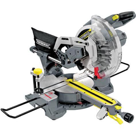 tool shop tile saw menards performax 174 10 quot sliding miter saw at menards 174