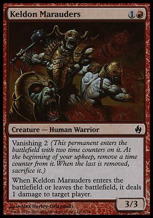 keldon marauders premium deck series fire and lightning