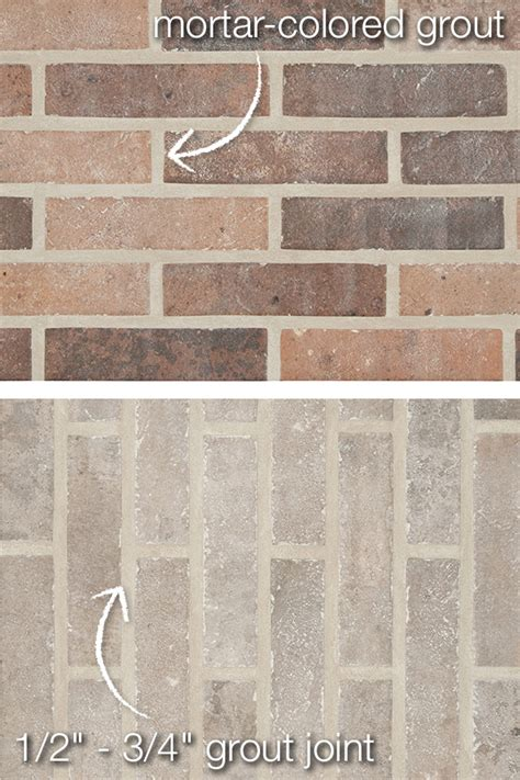 Best Thinset For Glass Tile by Style Statement Porcelain Brick Tile