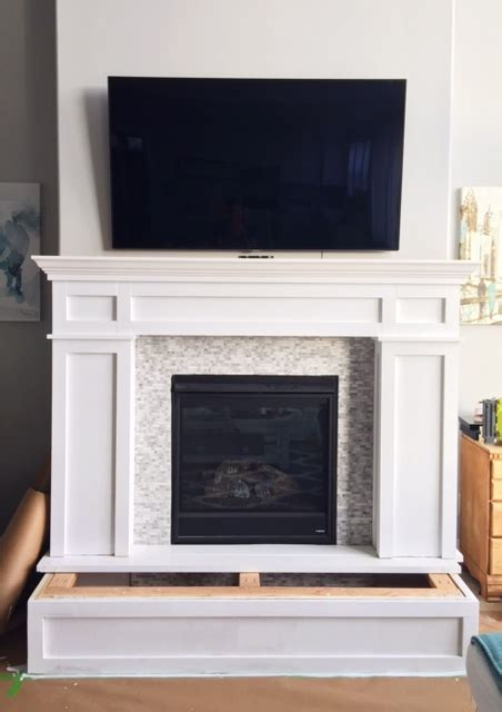 Fireplace Mantel Makeover Part 2  Page 6 Of 9 Honeybear