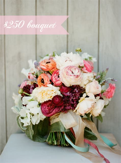 wedding bouquet cost snippet ink