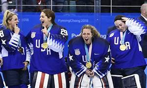 See the joyous gold medal ceremony for the USA women's ...