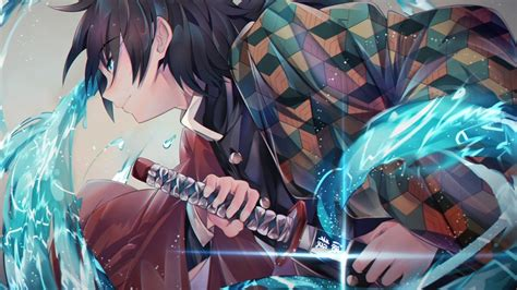 tomioka giyuu kimetsu  yaiba sword