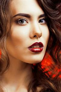 Beauty Woman With Perfect Makeup Beautiful Professional ...