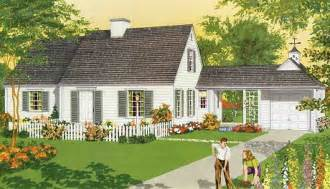 front porch house plans analyzing details on a mid century colonial