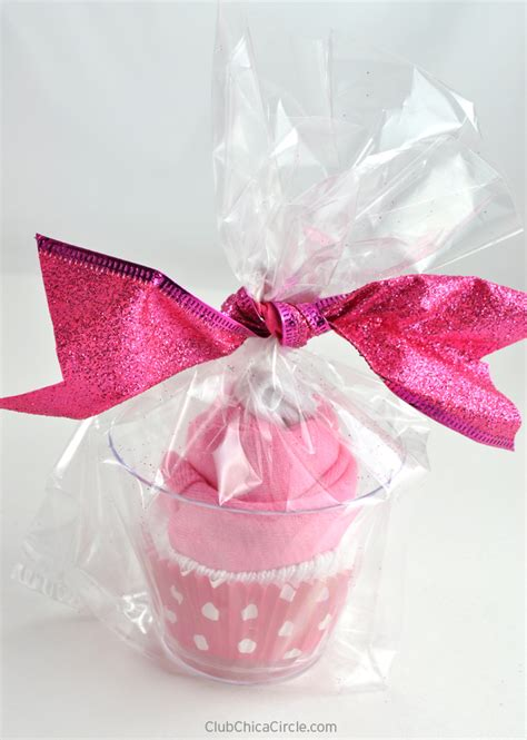 Cupcake Onesie Gift Cups