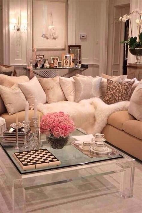 Girly Living Room by Living Rooms Feminine And Girly On