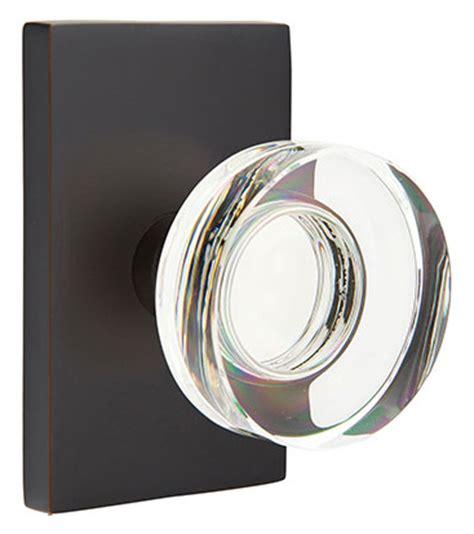 modern door knobs emtek modern disc door knob