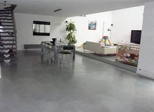 18 sols en beton cire pour votre loft With maison en beton coule 8 sol beton quartz lisse et cire beton decoratif interieur