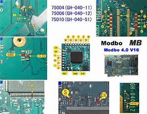 Playstation 2 Modbo Modchip Diagrams