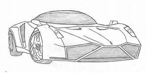Cool Car Drawings - Pencil Art Drawing