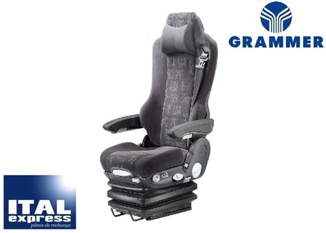 grammer siege siègedecamion com sièges pour poids lourds utilitaires