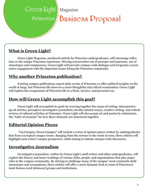 business business proposals business proposal template