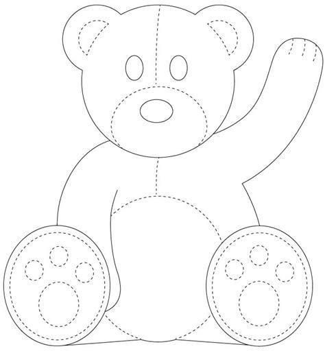 teddy template best 25 teddy template ideas on template felt templates and teddy