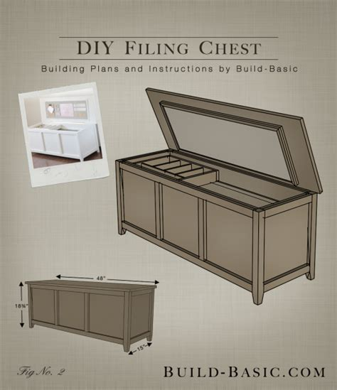 how to build a cabinet box build a diy filing chest build basic