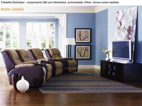 poltrona tv sof 225 para home estofado confort 225 vel para home theater