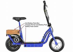 Extend The Range Of A Currie Ezip 500 Electric Scooter   Electricscooterparts Com Support