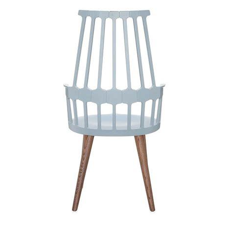 sedia kartell comback 5954 sedia kartell di design in legno e
