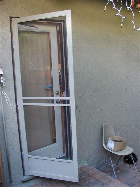 Screan Doors & Build A Wooden Screen Door