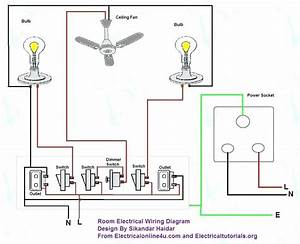 Wiring Diagram For 3 Bedroom House
