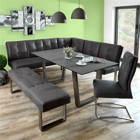 Cadeo Dining Table With Corner Bench And Small Bench