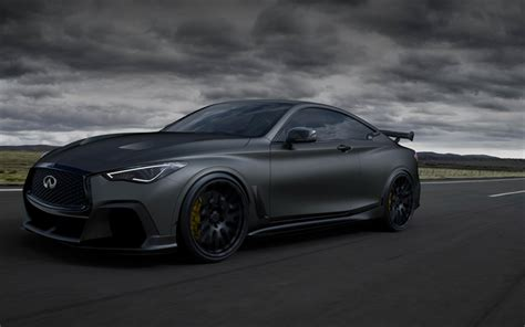 wallpapers  infiniti  project black  road
